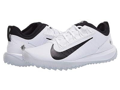 Nike Alpha Huarache 7 Pro Turf Lax (White/Black) Men