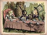 PDP 078 Poster Alice im Wunderland Teeparty,