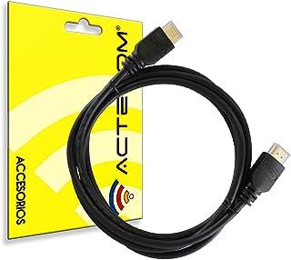 Cable HDMI Premium 1.4V 3D Alta Velocidad Ultra HD para Cable hdmi PS3 Cable hdmi PS4 Cable hdmi Xbox Resolución Full HD 1080P Plomo 1,5M Calidad Alta definición