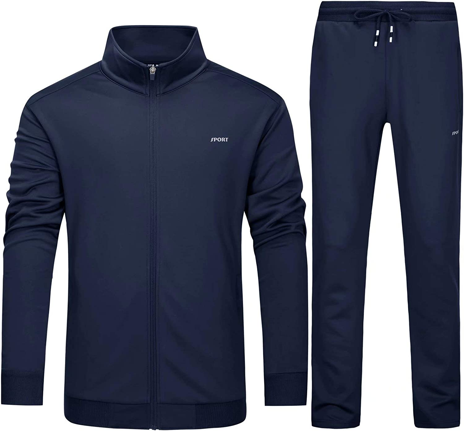 MAGCOMSEN Mens Athletic Sweatsuit Virginia Beach Mall 2 Casual Piece Choice Worko Tracksuit