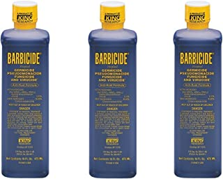 Barbicide Barber Salon Disinfectant Concentrated Liquid 16 oz 3 x SJ-51611
