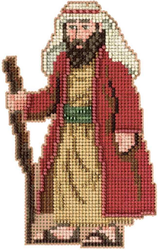 Joseph Beaded Sacramento Mall Counted Cross Stitch Ornament Kit N 2012 Mill Hill Popular brand in the world