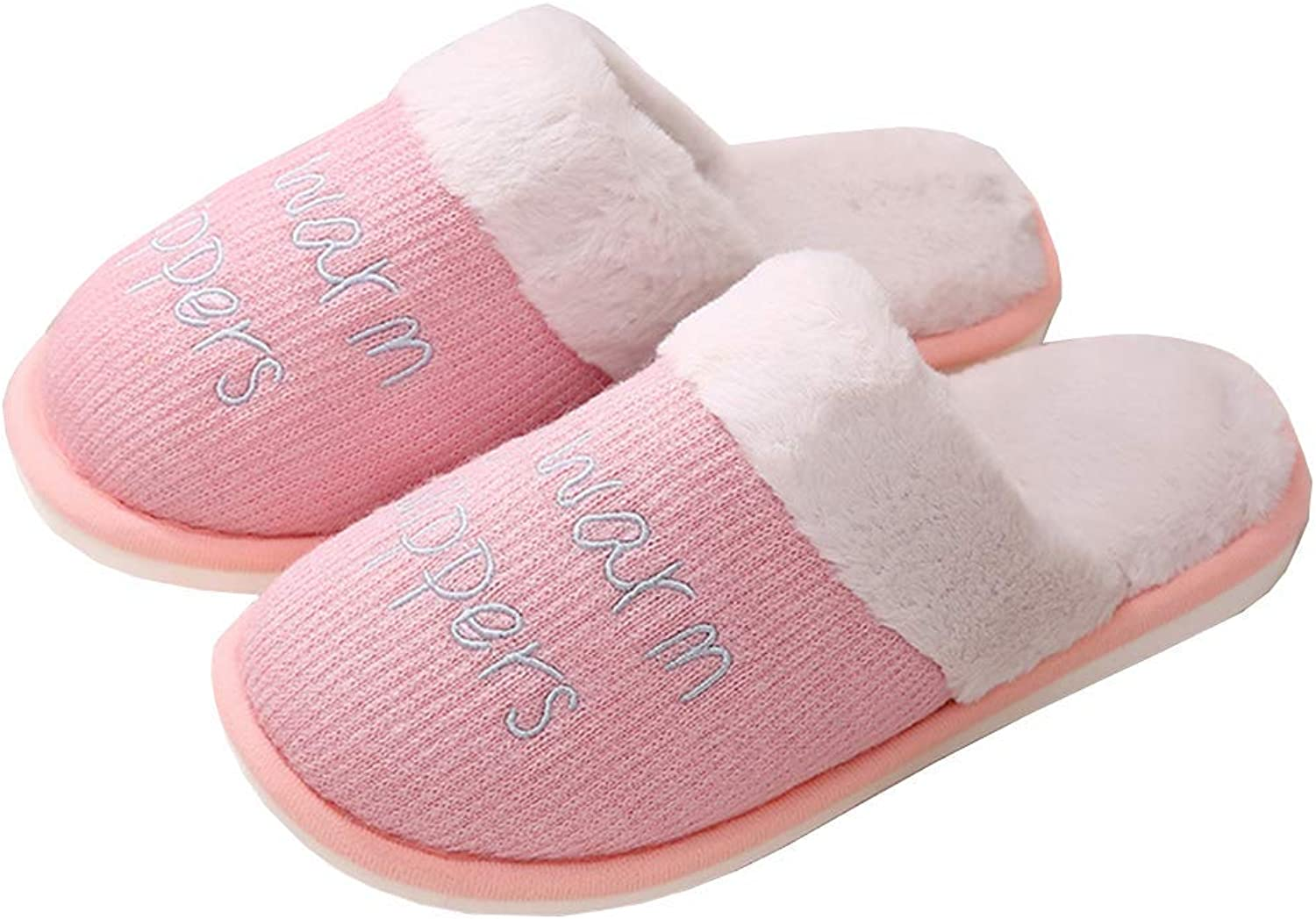 Keep Warm Home Slippers Women Winter shoes Cotton Anti-Slip Adults Indoor Slipper Unisex shoes