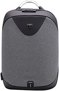 Anself ARCTIC HUNTER Multifunctional Outdoor Travel Laptop Backpack Fashion Men Anti-theft Large Capacity Backpack with Lock & External USB Charging Port