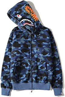 Bape Shark Classic Pullover Hoodie Unisex Hooded Sweatshirt For Men And Women