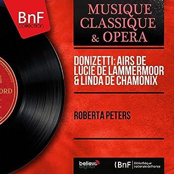 Donizetti: Airs de Lucie de Lammermoor & Linda de Chamonix (Mono Version)
