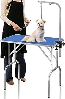 ottostyle.jp トリミングテーブル 自宅で手軽にペットのトリミングができる 折りたたみ トリミング台 80×50cm ペット用 高さ75cm 小型犬 中型犬 犬 猫 ペット用品