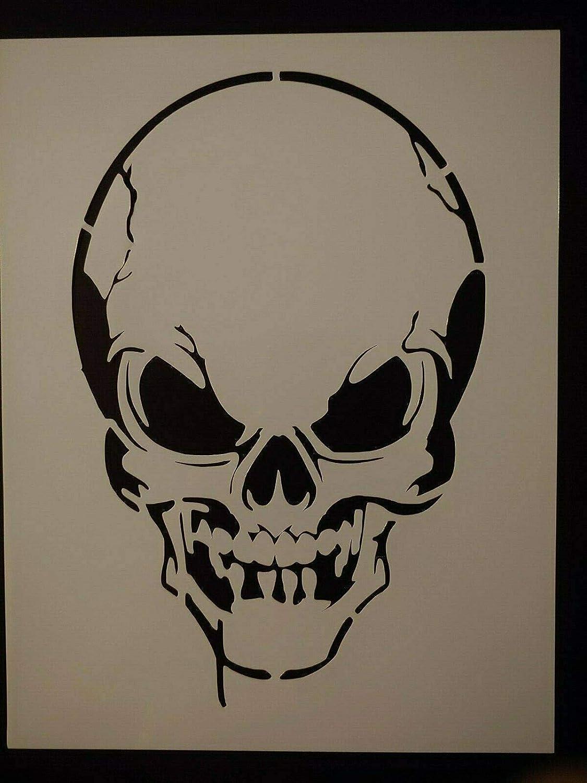 Super intense SALE Dripping Skull Evil Halloween 8.5