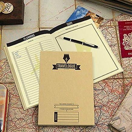 zlhcich Deluxe Scratch Map Cuadernos de Viaje Personalizados Registro de Viajes Diario de Turismo con 8 mapas del Mundo Mini Etiqueta de la Pared
