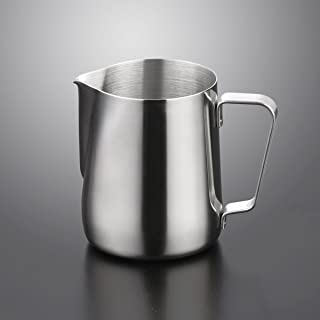 Sungpunet 350ML Stainless Steel Frothing Pitcher Milk Cup Milk Frothing Pitcher Milk Jug