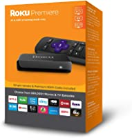 Roku Premiere | HD/4K/HDR?Streaming Media Player?with Simple Remote and Premium HDMI Cable