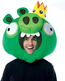 Paper Magic Angry Birds King Pig Costume Fabric Mask