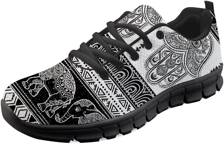 Mumeson Stylish Printing Women Running Sneakers Sports Athletic Walking shoes