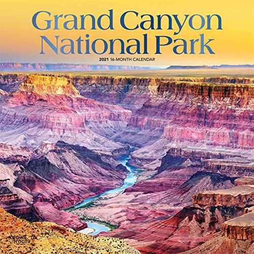 Grand Canyon National Park 2021 Calendar: Foil Stamped Cover