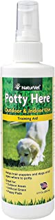 Potty Here Dog Puppy Training Aid Spray for puppy pee pads 8oz FRE