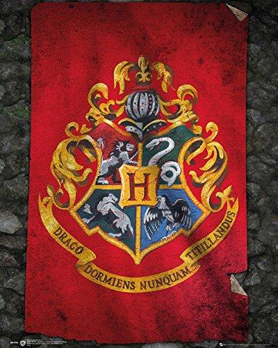 Harry Potter - Hogwarts Flag