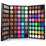 Palette Ombretti, FantasyDay 120 Colori Eyeshadow Palette Neutri Caldi Corredo di Trucco Tavolozza per Trucco Occhi Waterproof Makeup Eyeshadow Kit - Adattabile a Uso Professionale che Privato