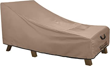 """(190cm (L) x 32""""(W) x 32""""(H)) - ULT Cover 100% Waterproof Patio Lounge Chair Cover Heavy Duty Outdoor Chaise Lounge Covers..."""