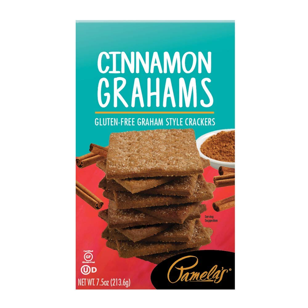 Pamela's Products Gluten-Free Graham Crackers -- Cinnamon 7.5 oz A surprise price is realized SEAL limited product