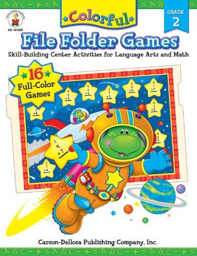carson dellosa file folder games - 9