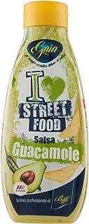 Gaia - I Love Street Food - Salsa Guacamole - Flacone Squeeze - Pacco da 6 x 800 g