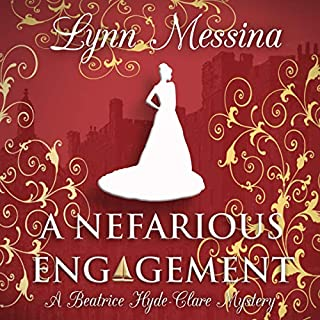 A Nefarious Engagement: A Regency Cozy  audiobook cover art