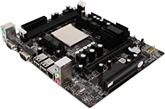 Computer Motherboard, Desktop Mainboard Support for DDR2+DDR3 Memory Support AM2/AM3 4 USB Port CPU Desktop Mainboard, for...