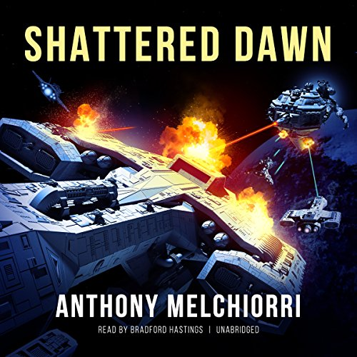 Shattered Dawn audiobook cover art
