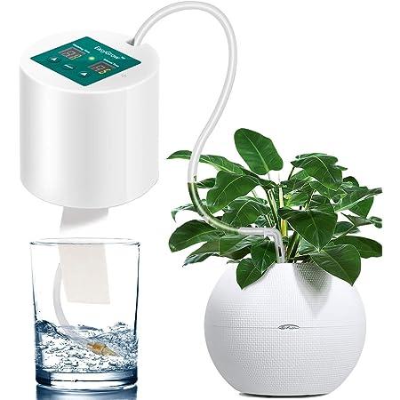 自動散水 ドリップ散水システム 10鉢対応可能 自動水やり 散水タイマー セット 自動給水器 植物 留守 10mホース付き 電池式 盆栽/多肉植物 ガーデニング