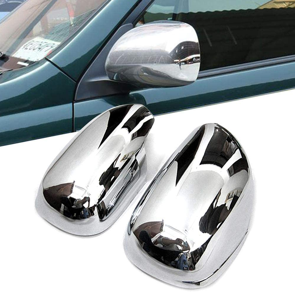 Zhisheng Car Door Latest item Charlotte Mall Rearview Side Mirror Cover ABS Chrome for Caps