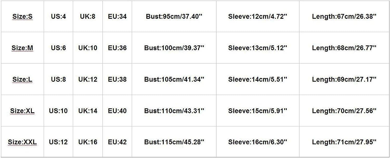 Women's Casual Basic V-Neck Pocket Tops Printing T-Shirt Loose Short Sleeve Tee Shirts Blouse Tops