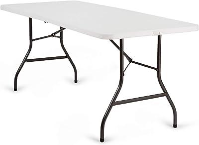 KitGarden KG Mesa Plegable Multifuncional, Blanco, Folding 180 ...