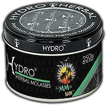 Hydro Herbal Hookah Shisha 250g Can - Summer Hash - Cucumber Mint - [Premium Flavor - Tobacco Free & Nicotine Free]
