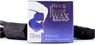 Qraa Men Nourishing Hair and Beard Wax with Marine Sea Minerals - 100 g