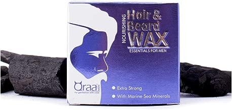 Qraa Men Nourishing Hair and Beard Wax with Marine Sea Minerals - 100 g
