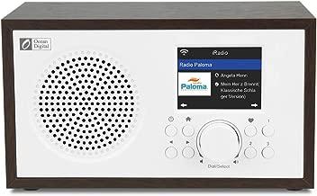 Ocean Digital Wi-Fi Internet radios WR100F FM Digital Radio with Bluetooth Speaker & Sleep Radio, Aux in,26000+ Stations,2.4