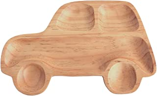 SPICE OF LIFE(スパイス) 木製 食器 皿 キッズウッドトレイ 車 PETITS ET MAMAN ナチュラル 30×23cm 箱入り AVLF1070