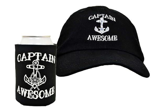 fff322294ec Captain Awesome 2-Piece Hat Cap and Coolie Gift Set Bundle