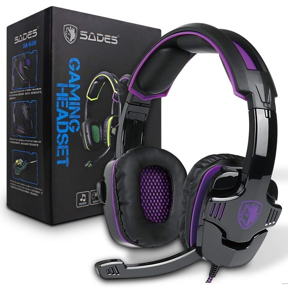 SADES SA930Plus Cancelling Headphones Control