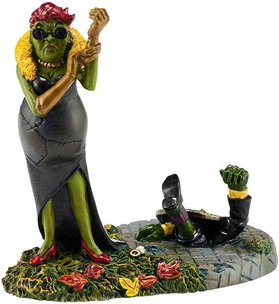 Department 56 Halloween Village Black Widow Strikes Again Figurine 4051014 New