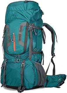 Mochila escolar de senderismo Mochila de alpinismo 80L Unisex Mochila grande for montañismo al aire libre Senderismo - Mochila deportiva a prueba de lluvia Mochila de día de senderismo Adecuado for el