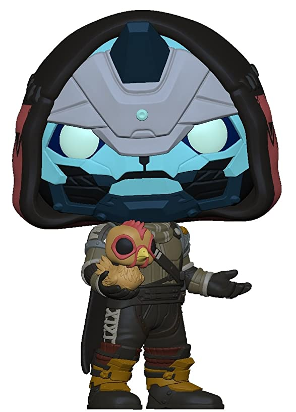 Funko POP! Games: Destiny – Cayde 6 with Chicken, (Amazon Exclusive)