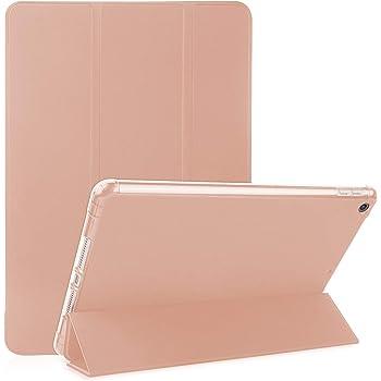 OKP Funda para ipad 8a generación (2020) y iPad 7a generación (2019), funda premium para iPad 10.2 2019 Funda para tableta con cubierta trasera translúcida suave de TPU Carcasa delgada para iPad 7a generación 10.2 pulgadas, Oro rosa