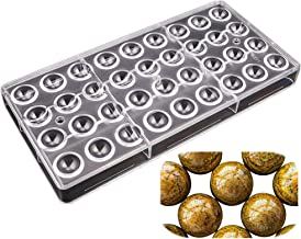 36 cavities 2cm diameter half ball shape polycarbonate PC chocolate mold candy making supplies DIY baking supplies