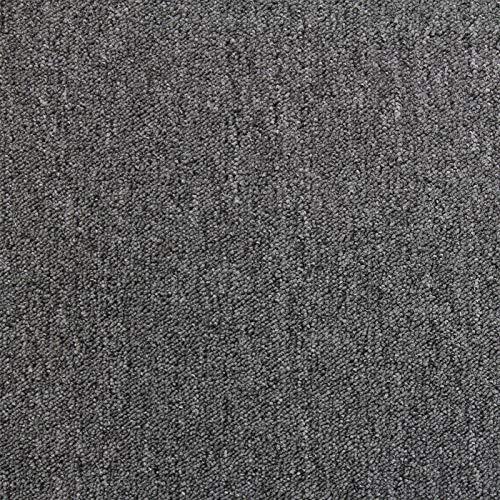 Losetas de Moqueta Pack de 20 5m2 Parches para Moqueta Hogar Oficina Color Antracita