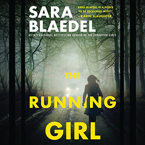The Running Girl audiobook cover art