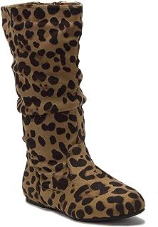 Toddler Girls Little Kids Bella-9 Slouchy Zipped Tall Winter Fashion Dress Boots