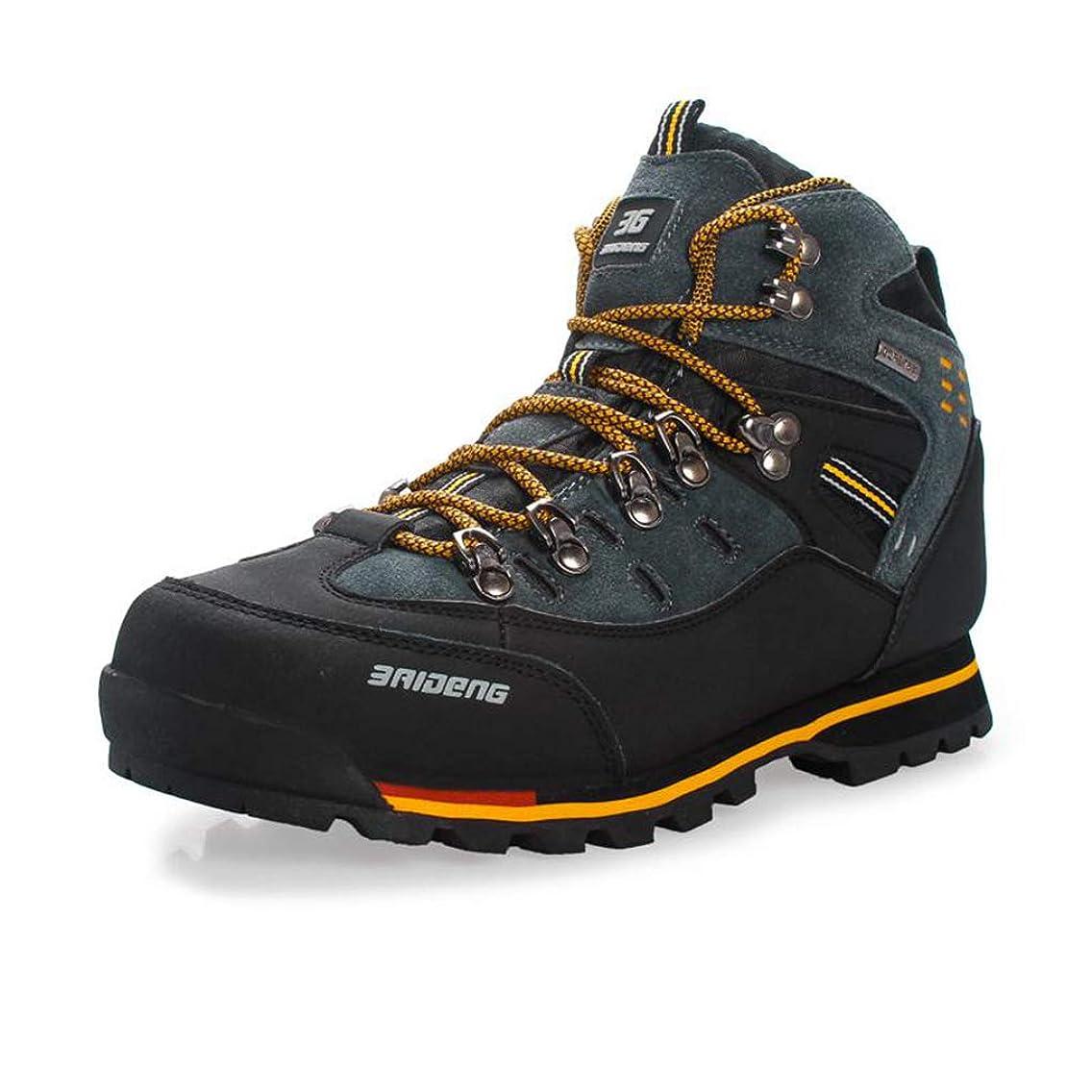 Bergort Hiking Boots Men Outdoor Leather Trekking Shoes