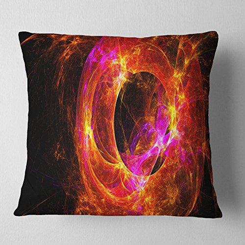 Design Art Throw Pillow, Polyester, 16' x 16'