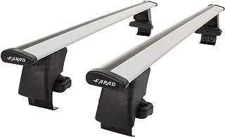 Barras de Techo Farad AERODYNAMIC Grey compatibles con Hyundai IONIQ (5 Puertas) a Partir de 2016, Barras de Techo de Alum...